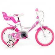 Детско колело Little Heart, 14 инча, Dino Bikes, 120115620