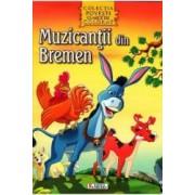 Muzicantii din Bremen - Povesti clasice de colorat