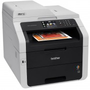 MFP, BROTHER MFC-9340CDN, LED, Color, Duplex, ADF, Fax, Lan (MFC9340CDWYJ1)