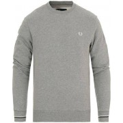 Fred Perry Crew Neck Sweat Steel Marl