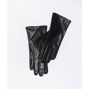 Etam Gants en cuir - SHINY - M - Noir - Femme - Etam
