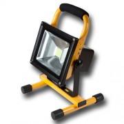 Max LED Stavební reflektor 24763 studená bílá 20W akumulátorový