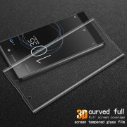 IMAK Complete Covering 3D Curved Tempered Glass Screen Protector for Sony Xperia XA1 - Transparent