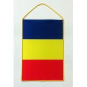 Fanion Romania tricolor 16x24 cm