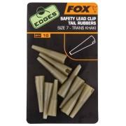 Fox Převleky na závěsky na olovo Edges Lead Clip Tail Rubbers vel. 7