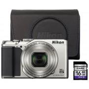 Nikon Coolpix A900 - Zilver starterkit
