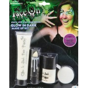 Glow in the Dark Makeup Kit 4 Delar