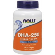NOW Foods DHA-250 120 softgels