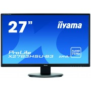 iiyama 27' 1920x1080, 4ms, AMVA+ panel, 300cd/m², VGA, DisplayPort, HDMI, Speakers, USB-HUB