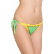 VAL D´azur Bikini-Slip Manzana, kiwi/gelb grün