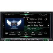 Player auto multimedia Alpine iLX-702D 7inch 1DIN compatibil Android Auto Apple CarPlay