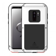LOVE MEI Shockproof Dropproof Dustproof Shell Case for Samsung Galaxy S9+ SM-G965 - White