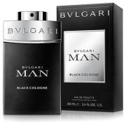 Perfume Man Black Cologne Bvlgari Masculino Eau De Toilette 100ml - Masculino-Incolor