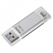 USB DRIVE, 64GB, Hama Save2Data Lightning, USB3.0, Silver (124142)