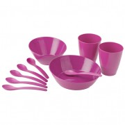 Biodora kinderservies0 delig, pink