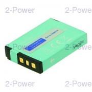 2-Power Digitalkamera Batteri Kodak 3.7v 1050mAh (KLIC-7003)