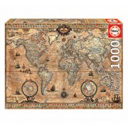 Puzzle Antique World Map, 1000 piese