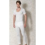 Doreanse Deep Neck Short Sleeved T Shirt White 2870