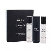 Chanel Bleu De Chanel 3X20Ml Per Uomo (Eau De Parfum)