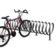 Stojak na rowery SPIRALA B-1 - 8 lub 14 miejsc rowerowych /NIERDZEWNY/ SPIRALA B-1 stojak 8-14 miejscowy
