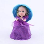 Papusica briosa HASCHEL HOLDINGS Cupcake Surprise Violet