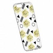 Husa Silicon Transparent Slim Yellow Rose 137 Apple iPhone 6 PLUS 6S PLUS