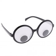 Homyl Googly Eyes Funny Joke Glasses Fancy Dress Party Novelty Moving