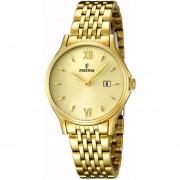 Reloj F16749/3 Dorado Festina Mujer Acero Moda Festina