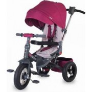 Tricicleta COCCOLLE Corso multifunctionala roti cauciuc, Violet