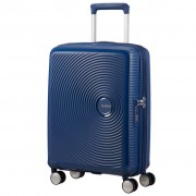 American Tourister Soundbox 55cm 4-Wheel Expandable Cabin Case - Midnight Navy