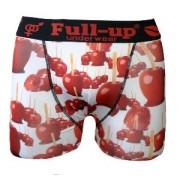 boxer full-up motif pomme d'amour