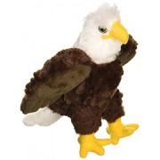 "Wild Republic Bald CK-Mini Eagle 8"" Animal Plush"