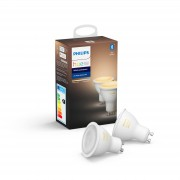 Philips Hue losse lampen - White Ambiance - GU10 perfect fit (2-pack)