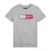 Tommy Hilfiger Kb0Kb04681 Essential Grapich T Shirt AND Tank Unisex Boys Grey