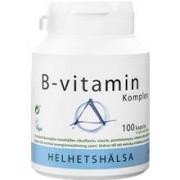 Helhetshälsa B-vitaminkomplex 100 kapslar