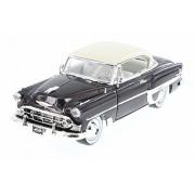 1953 Chevy Bel Air Hard Top w/ Baby Moon, Bronze - Jada 98883-MJ - 1/24 Scale Diecast Model Toy Car