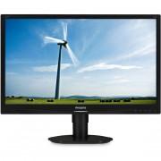 """Philips 220s4lycb/00 S Line Monitor Lcd 22"""" Luminosità 250 Cd/m² Colore Nero"""