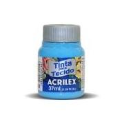 Tinta p/tecido fosca 37ml azul celeste 04140 Acrilex