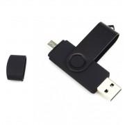 Quazar 2in1 32 GB-os smart pendrive Android-os eszközökhöz, fekete