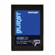 "SSD 2.5"", 480GB, Patriot Burst, SATA3 (PBU480GS25SSDR)"