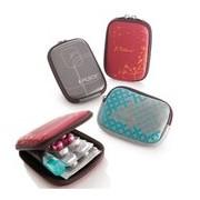 Bolsa para blisters de medicação cores sortidas - Pilbox