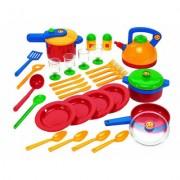 Klein-Toys Emmas Kitchen grosses Topfset Alter: 3+