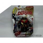Mech Deform Space piros robot