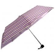 Doppler Umbrelă mecanică pliantă pentru femei 700027505 - ornamentat cu linii violete