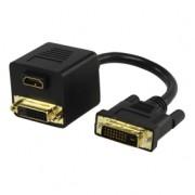 Átalakító DVI-DVI-HDMI