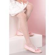 Kabarette lányka harisnyanadrág fehér 140-146