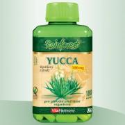 VitaHarmony Yucca 500 mg - 180 kapslí, XXL economy