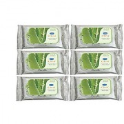 GINNI CLEA WIPES Cleansing Makeup Remover Aloevera Pack of 6 10 Per Pack