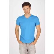 Petrol T-shirt - Blauw
