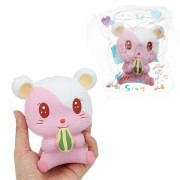 Hamster Squishy 12*11CM Slow Rising With Packaging Collection Gift Soft Toy
